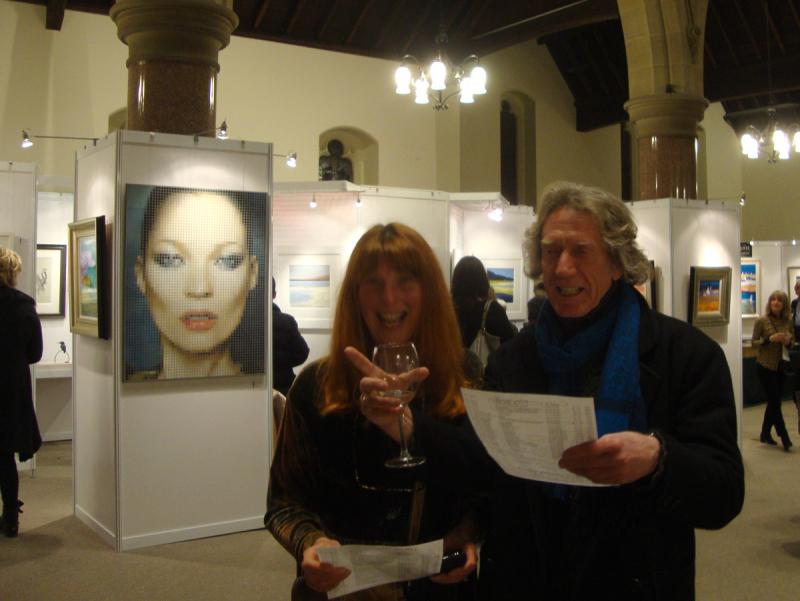 Chippendale & Morris at Corrymella Scott art exhibition