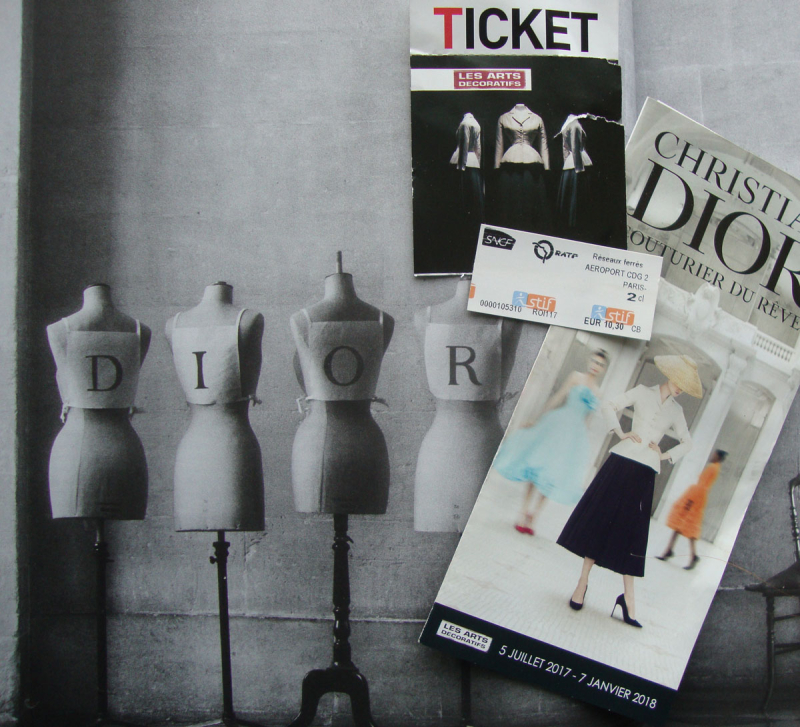 Dior paris tickets