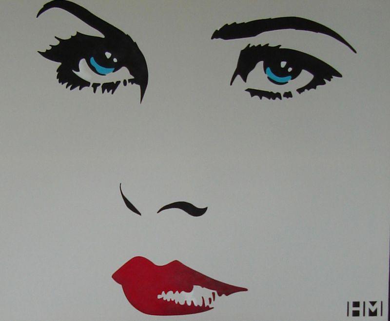 Helen morris stencil 32