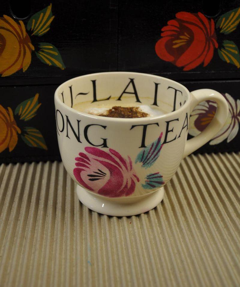 Rose stencil cup 20