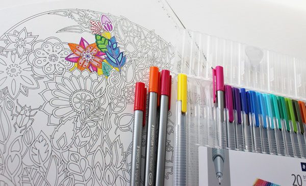 Colouring Books For Adults And In Your Walls