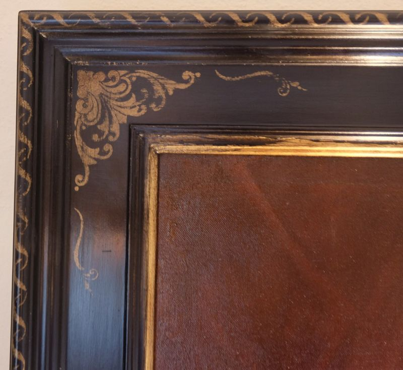 Corner stencil frame2
