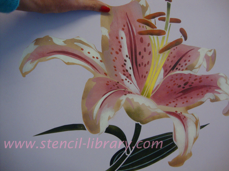 VN Lily Stencil Library copy