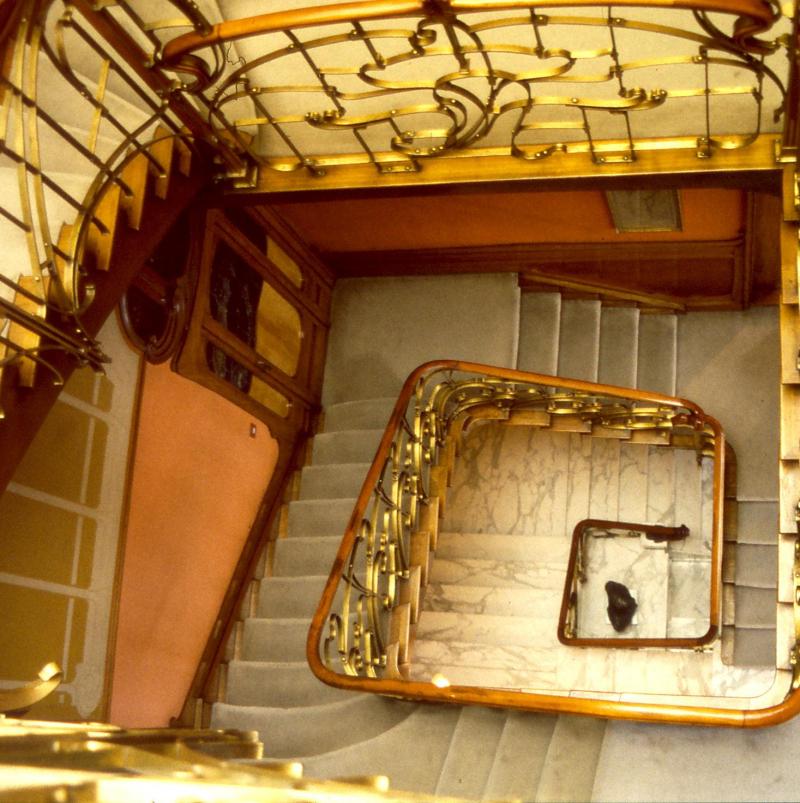 Horta house art nouveau