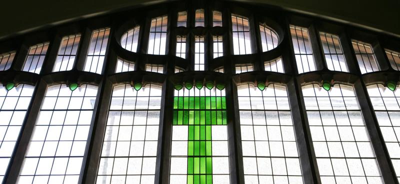Mackintosh queens cross church window