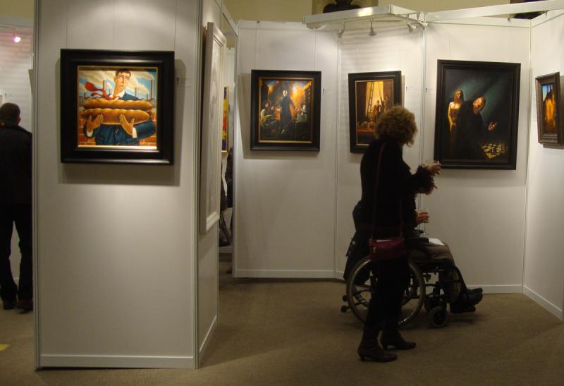 Corrymella scott  scottish art exhibition 83