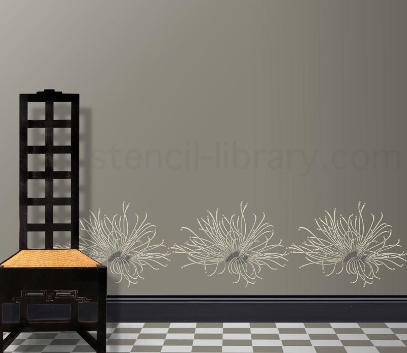 VN127 calliandra stencil-library monochrome txt