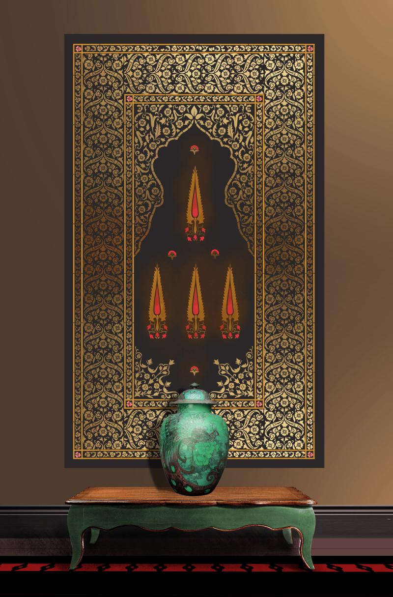 OTT21 Persian Carpet Stencil Library