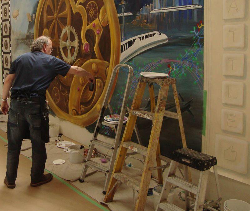 Michiel vdl salon mural