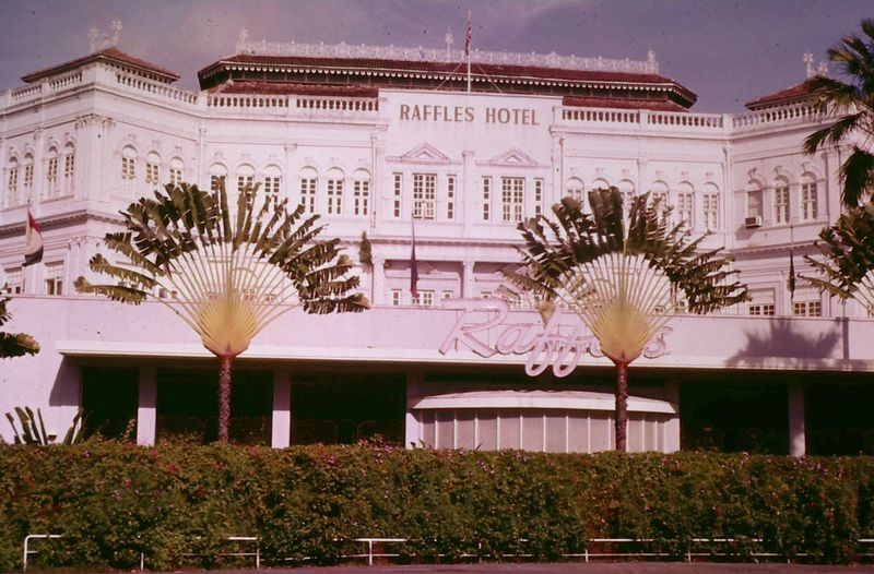 3 raffles singapore 1960