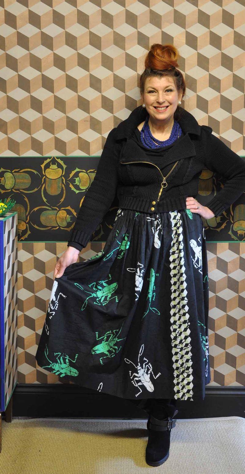 Helen beetle skirt lr29