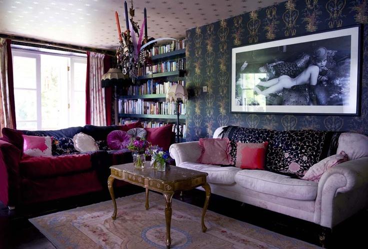 Pearl lowe living room