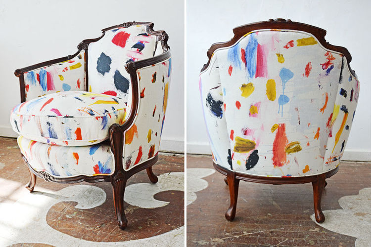 Pierre frey arty fabric chair