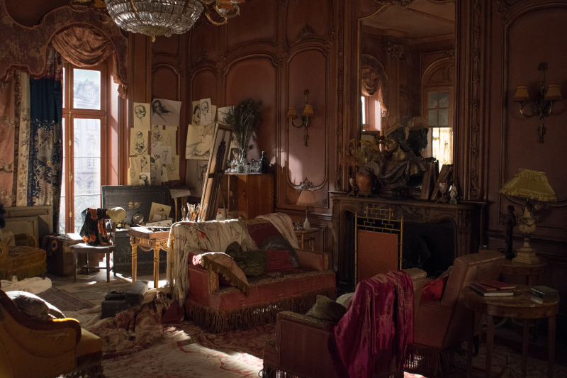 Danish girl paris apartment set