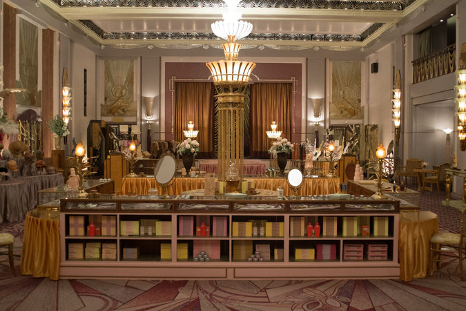 Danish girl department store set