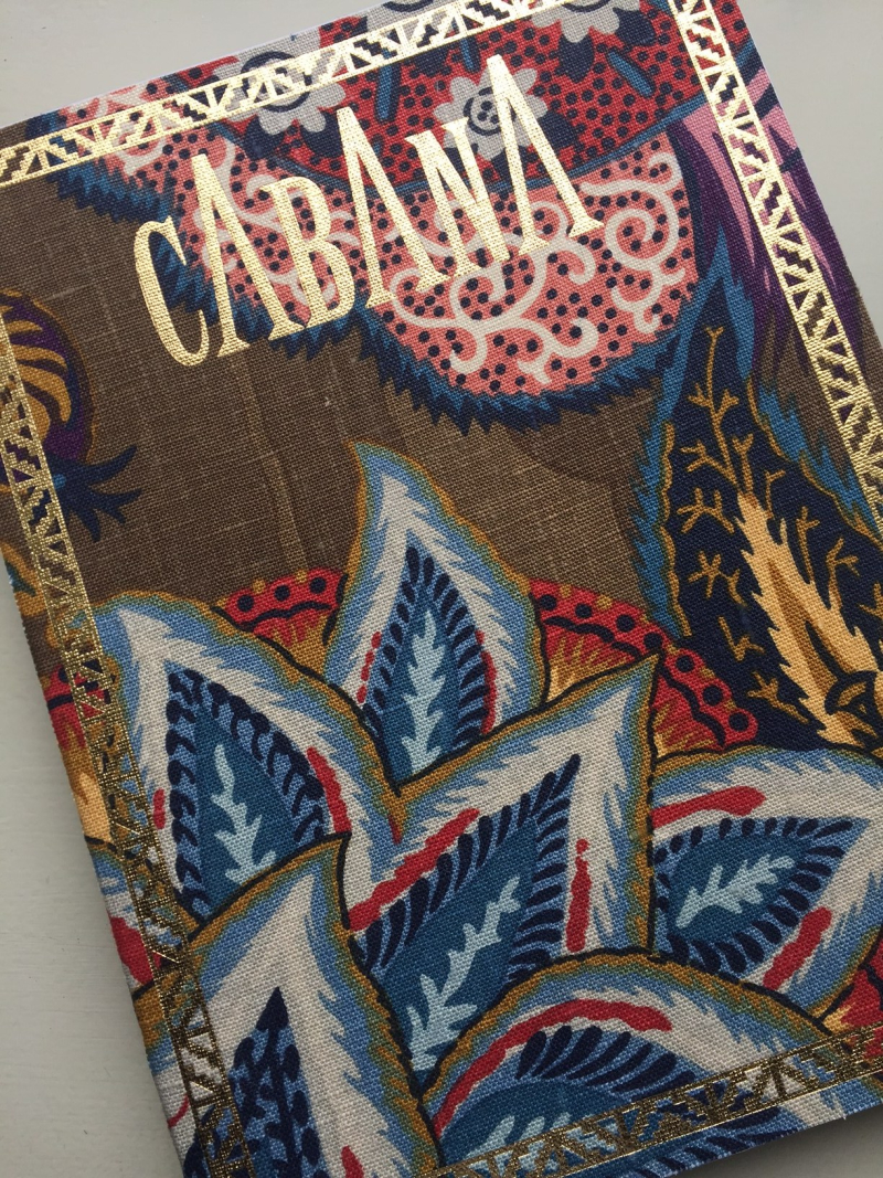 Cabana Magazine Issue 6 with Schumacher Fabric Cover