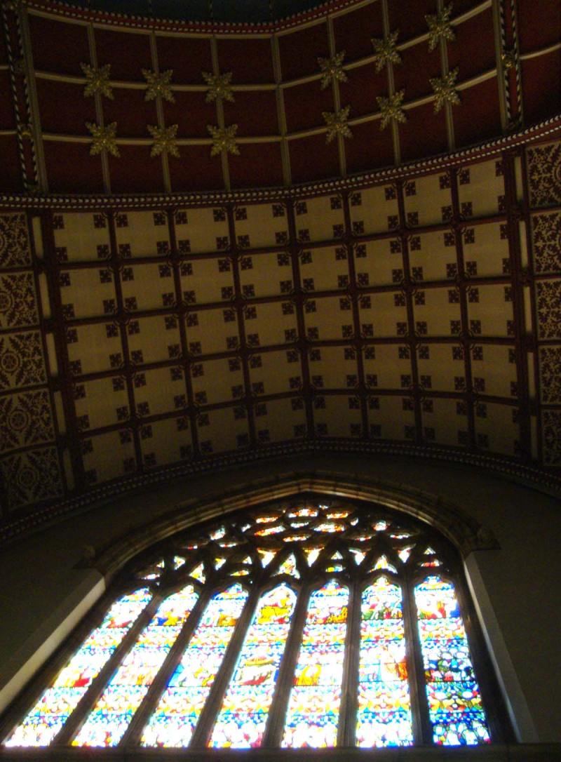 Ushaw_stencilled_ceiling+window