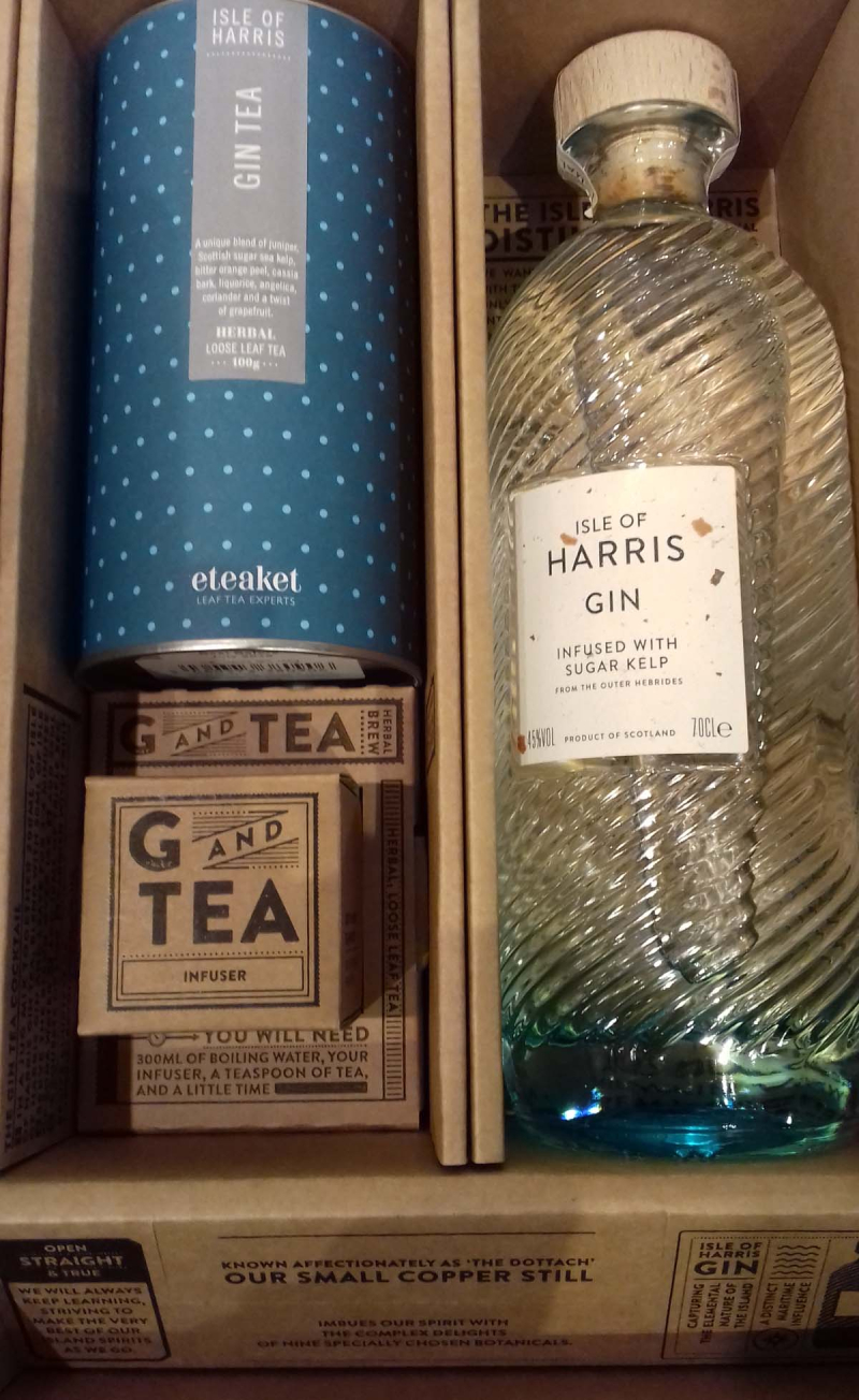 Isle of harris gin gift box