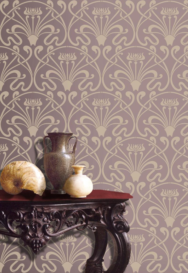 VN57 Lalique Repeat Stencil Library