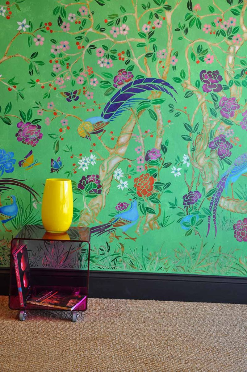 Ch1-ch4-X chinoiserie panels