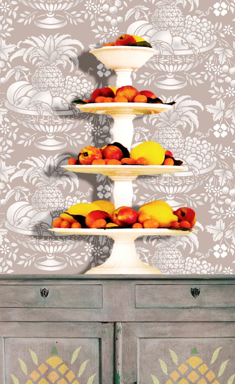 AM24 Fruit Basket Stencil Library