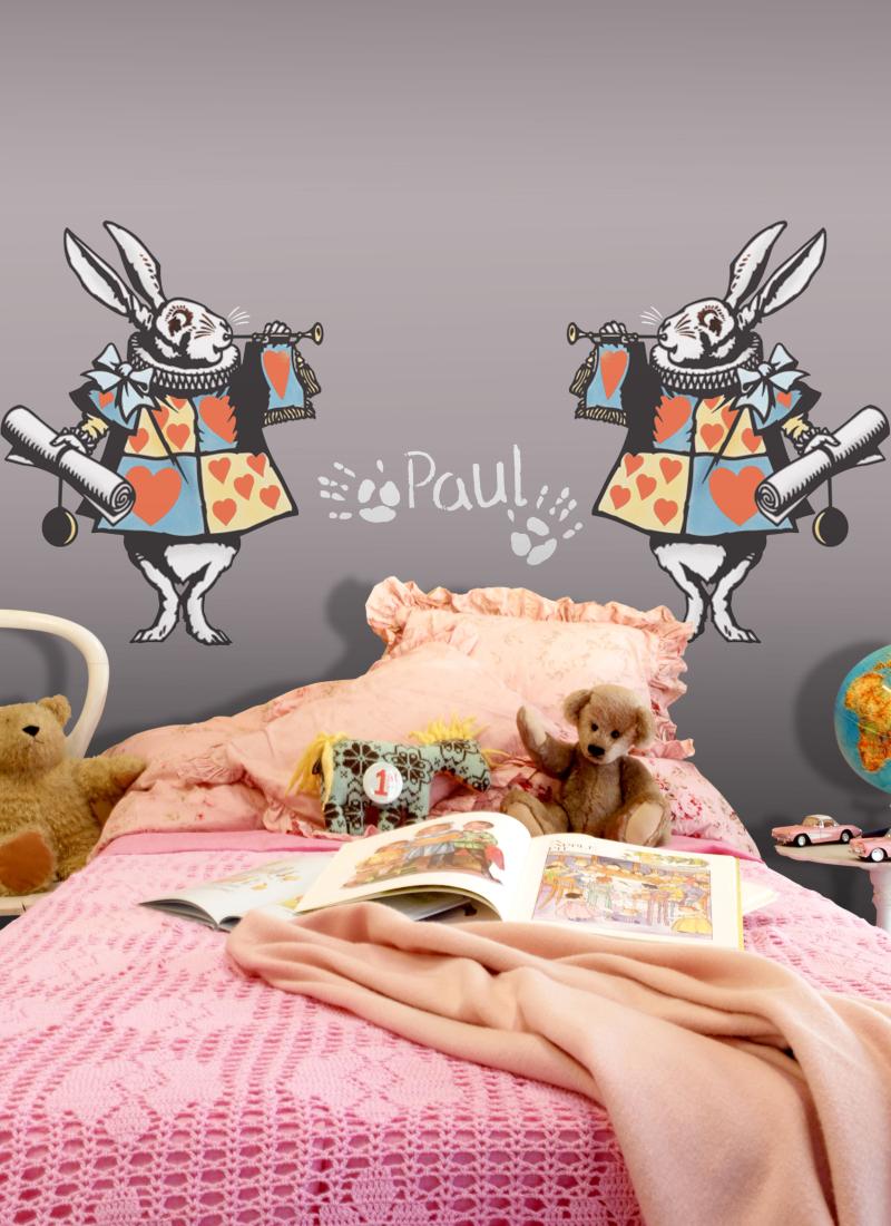 AL7 White Rabbit Stencil Library
