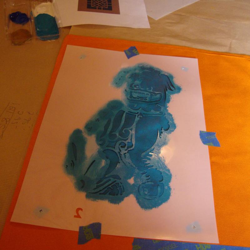 3 stencil layer 2