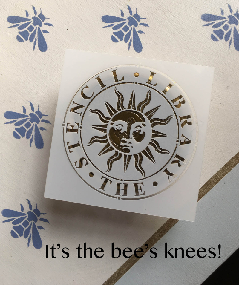 Bees knees stencil library
