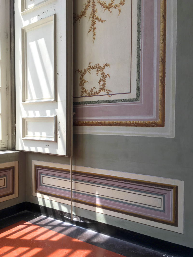Shutter decorative paintwork  caserta.80