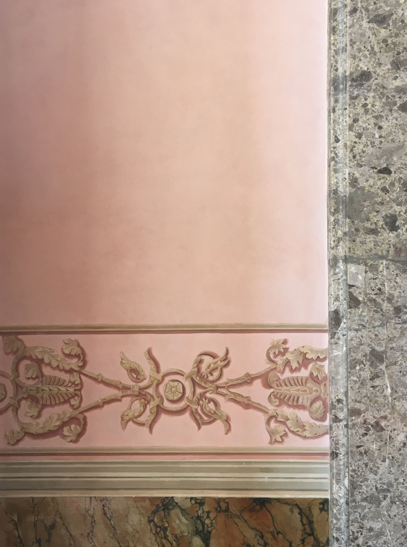 Pink colourwash and marble caserta89