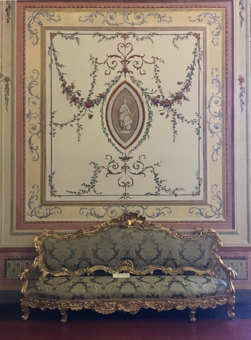 Decorative painted panel caserta 27
