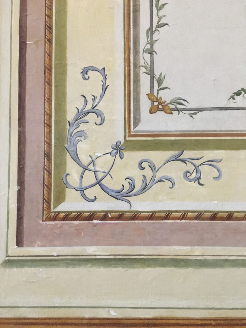 Decorative painting caserta palace83