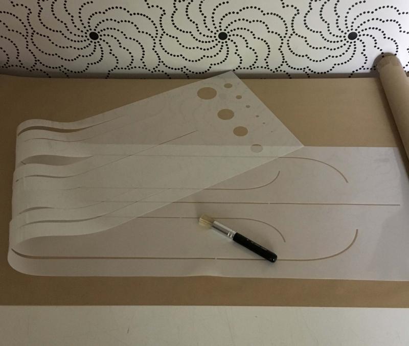 LTL3-L Designer Blossom stencil 95