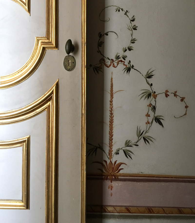 Ornamental paintwork  Caserta palace