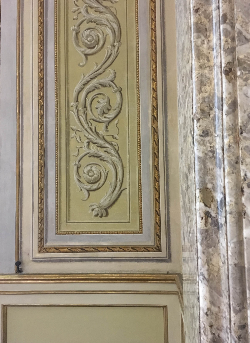 Decorative paintwork 861 caserta