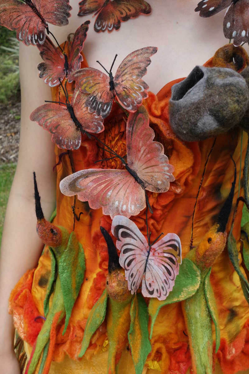 Jacqui gibson wearable art